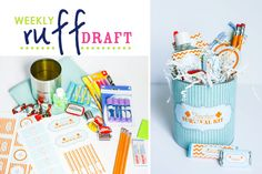 Ruff Draft:  DIY Teacher Survival Kit : Anders Ruff Custom Designs :