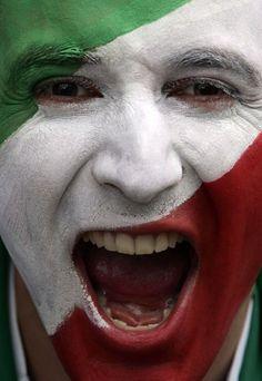 Tifoso italiano agli ultimi mondiali