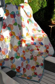 English Paper Piecing tips at Pleasant Home