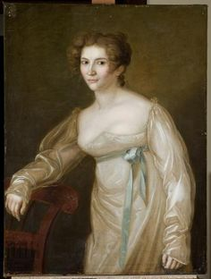 Portret Apolonii z Sokołowskich Kamińskiej | Józef Reichan ok. 1815