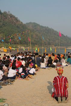 Experts and indigenous communities along came together along Salween River to discuss the negative impacts proposed damns would have on villagers.
