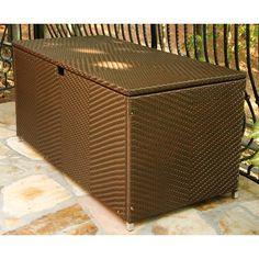 Have to have it. Tortuga Lexington Large Deck Storage Box - $599 @hayneedle