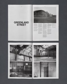 Magazine Layout #typography #photography #grids #black