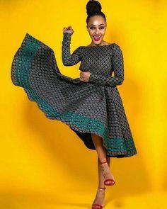 Open back long sleeves Ankara African Print dress Prom dress. Open back long sleeves African Print Dresses, African Print Fashion, African Fashion Dresses, African Dress, African Outfits, African Fabric, African Attire, African Wear, African Women