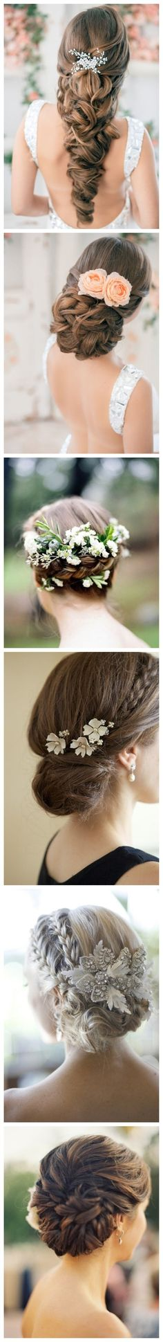 so pretty.. Maybe I should put a flower in my hair? I like #4