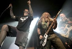 Phil #Anselmo, Patrick Bruders and Kirk #Windstein of #Down
