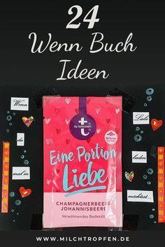 DIY Geschenkidee: 100+ Ideen für dein eigenes Wenn-Buch ...