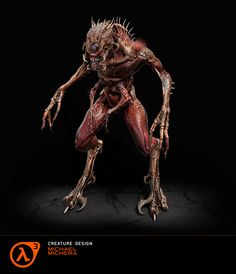 ArtStation - Half Life 3 - Vortigaunt's Beast, Michael Michera