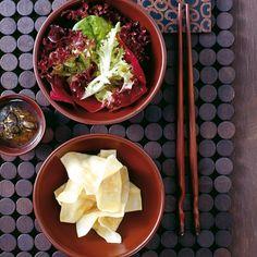 ESSEN & TRINKEN - Kürbis-Wan-Tans mit Minz-Pesto Rezept
