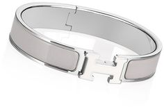 Silver Hermes bracelet