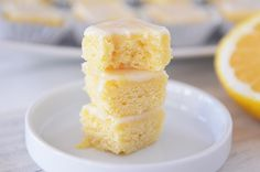 Lemon brownie!