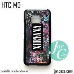 nirvana Phone Case for HTC One M9 case and other HTC Devices