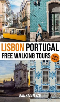Free walking tour in Lisbon Portugal with Lisbon map. I've created 3 self-guided walking tours to discover Lisbon, one of the best cities in Portugal. lisbon portugal things to do in | lisbon… More
