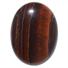 RED TIGER EYE GEMSTONE OVAL FLAT BACK CABOCHONS 40X30MM 1 PIECE from beadaholique.com