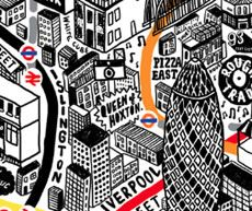 Evermade.com Art Prints - Maps, Quotes, London & More. - Arts selling model for Kieran?