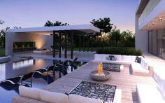 Exterior Photorealistic Renderings - modern - pool - 3DR Design Studio