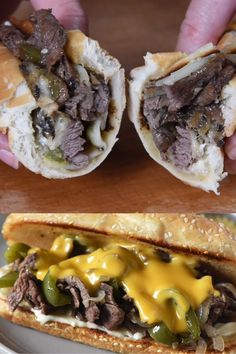 sandwich recipes How to make the best Philly Cheesesteak ever, using sirloin steak, mushrooms, peppers, and onions. My favorite easy skillet meal and traditional sandwich recipe! Makes a delicious family dinner! Steak Sandwich Recipes, Steak Sandwiches, Philly Steak Sandwich, Delicious Sandwiches, Carb Free, Best Philly Cheesesteak, Authentic Philly Cheesesteak Recipe, Philly Cheesesteaks, Beef Recipes