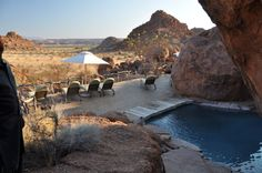 windhoek | Windhoek-Erongo Wilderness Lodge-Camp Kipwe-Damaraland Camp-Khowarib.