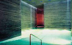 The Therme Vals, Switzerland  Peter Zumthor & Mario Nanni / Viabizzuno