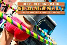 Help Bring Back SUMMERSALT Music & Arts Festival. Summersalt2013.com