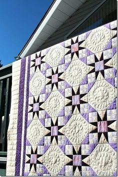 Purple And Gray Quilt Beautiful Quilt And Quilting Ladder Pattern I Think Purple And Grey Baby Bedding Sets – esco.site