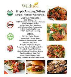 Simply Amazing Skillets Workshop - Bundle List & Recipes