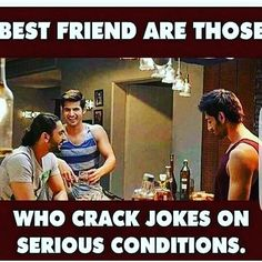 Yups i m the one. Best Friend Quotes Funny, Besties Quotes, Funny Quotes, Funny Memes, Qoutes, Crazy Friends, True Friends, Bad Friends, Dear Best Friend