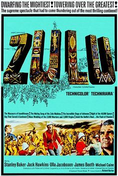 Zulu - 1964 - Movie Poster