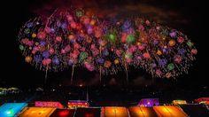 Konosu Fireworks Festival こうのす花火大会 2014 (ギネス世界記録認定, Guinness World Recor...