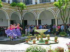 Los patios de El Puerto de Santa María. http://arteole.com/blog/los-patios-de-el-puerto-de-santa-maria/