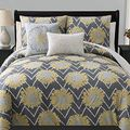 Naomi 5-piece Reversible Comforter Set | Overstock.com Shopping - The Best Deals on Comforter Sets