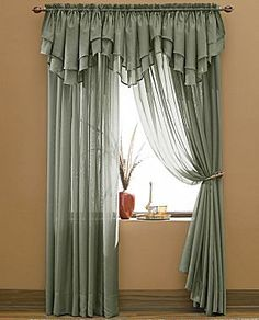 Snow Voile Window Treatments - jcpenney