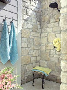 outdoor shower-