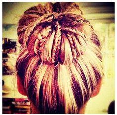 Nice bun! :)