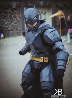 Batman vs superman Armored Batsuit cosplay