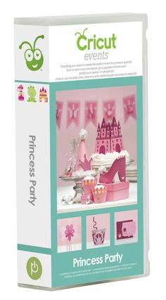 www.cricut-cartridges.com | Creative Critters Cricut Club: PRINCESS PARTY: Cupcake Wrappers, Picks ...
