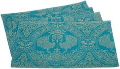 Mahogany Teal Peacock Fused Placemat Set Of 4,  13-inches by 19-inches Mahogany http://www.amazon.com/dp/B002S0NHRI/ref=cm_sw_r_pi_dp_Vm39ub1899SF0 - Very beautiful!
