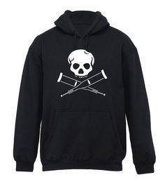 Jackass Black Hooded Sweatshirt s M L XL New Punk Emo Metal Hoodie Rock   eBay