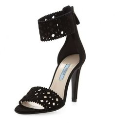 Sandali Prada - primavera-estate 2014 traforato #black #shoes