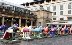 In pictures: Shaun the Sheep lands in Covent Garden