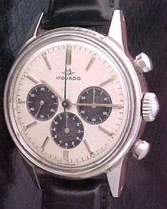 #Movado calibre 95m chronograph w/ #pandadial