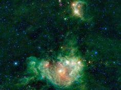 El Van Gogh del cielo infrarrojo (© NASA/JPL - Caltech/UCLA photo)