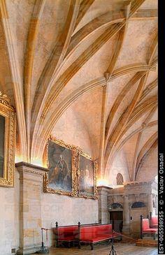 The Throne hall, Prague