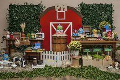 Farm Birthday Cakes, Alice In Wonderland Birthday, Art Party, Zoo Animals, Rapunzel, Bento, Toy Story, First Birthdays, Baby Kids