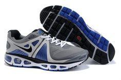 Nike Air Max Tailwind+ 4 Pour Homme Sneakers Gris Blanc Bleu Prix 2014