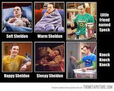 Soft Sheldon…