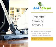We provide customized domestic cleaning services in Cairns for residences of all types and sizes. Be it a single and one-off call or a regular cleaning service, our professionals are always present on time.