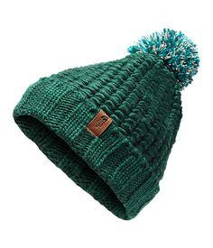 The North Face Women/'s Ski Winter Hat Briar Beanie One Size Kokomo Green New