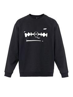 McQ by Alexander McQueen Razor logo-print sweatshirt on shopstyle.com