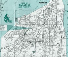 Paradise Utah Map.60 Best Paradise California Images Paradise California
